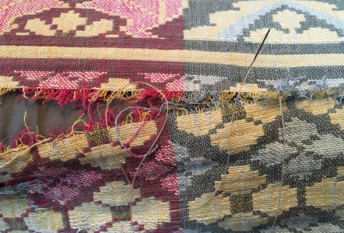 My First Work of 2016:  Mending